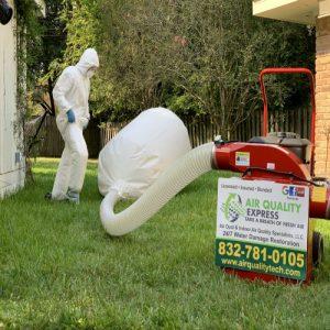 We do remediation cleaning services